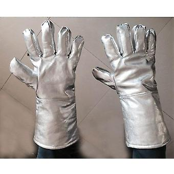 Thermal Radiation 1000 Degree Aluminized Apron With Oversleeves And Gloves