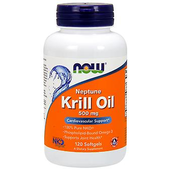 Now Foods Neptune Krill Oil 500 mg 120 Softgel