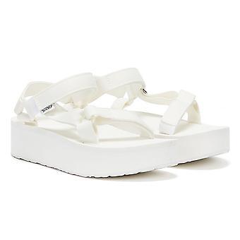Teva Flatform Universal Womens White / White Sandals
