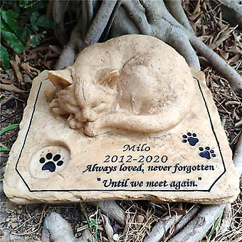Pierre commémorative pierre pet pierres tombales pierre de jardin