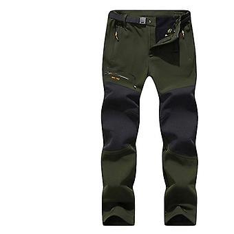 Winter/ Autumn- Fleece Softshell Trousers, Mountain Trekking Pant, Men