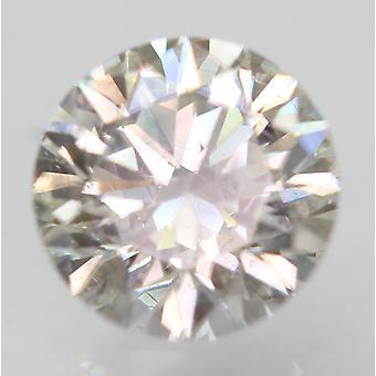 Sertifioitu 0,63 karat I VS1 pyöreä brilliant parannettu luonnollinen löysä timantti 5,46mm