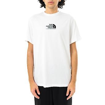 T-shirt homme le visage nord m ss tee-shirt alpe fine 3 tnf nf0a4szula91