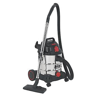 Sealey Pc200Sdauto Vacuum Cleaner Industrial 20Ltr 1400W/230V Auto Start