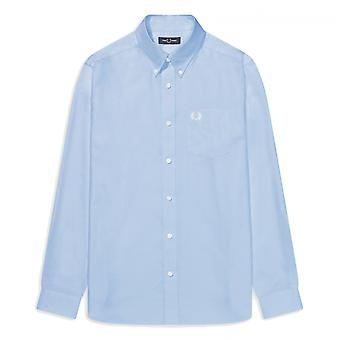 Chemise Fred Perry Oxford Shirt Bleu