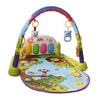 Moni Game Center 999, jungle dieren, spelen Bow, kruipen deken, muziek knoppen