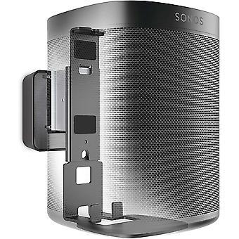 Vogel's SOUND 4201 Lautsprecher Wandhalterung fr Sonos One (SL) und Play:1, Max. 5 kg, Neigbar