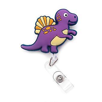 Большой размер динозавра Выдвижной держатель карты Значок Катушка Медсестра Выставка