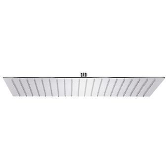 vidaXL Rain shower stainless steel 304 50x30 cm Rectangular