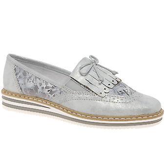 ريكر هامش النساء زلة على الأحذية