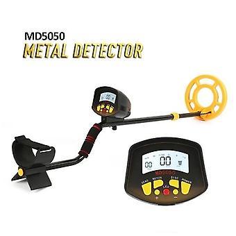 Portátil Fácil instalação detector de metais subterrâneo alta sensibilidade Joias Tesouro Ouro Metal Detecting Tool Finder