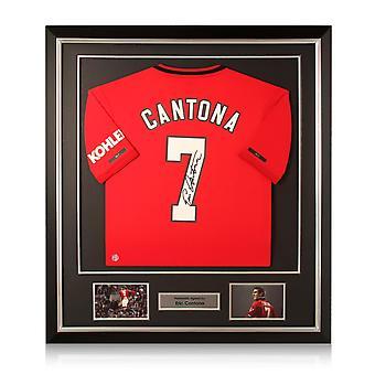 Eric Cantona värvade Manchester United 2019-20. Deluxe ram