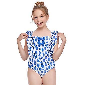 Swimsuit european girl's one-piece swimwear