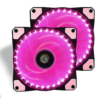 Wokex Gaming-Lüfter für PC-Gehäuse, 120 mm, sehr leiser LED-Computer-Kühler, hoher Luftstrom, Lüfter
