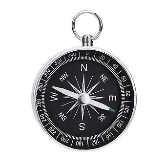 Aluminum Lightweight Emergency Compass, Outdoor Survival Tool,  Navigation Wild