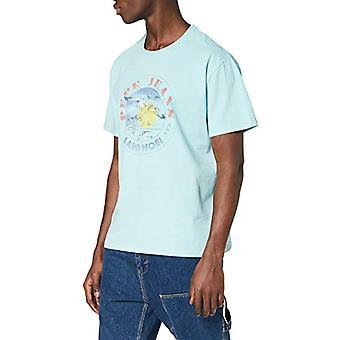 Pepe Jeans Murray T-Shirt, Blue (Dark Water 518), X- L arge Men's
