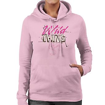 Sindy Wild Thing Women's Hooded Sweatshirt