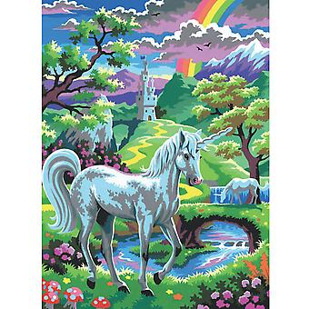 Sequin Art Junior Paint By Numbers Unicorn