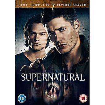 Övernaturlig komplett serie 7 DVD + UV-kopia