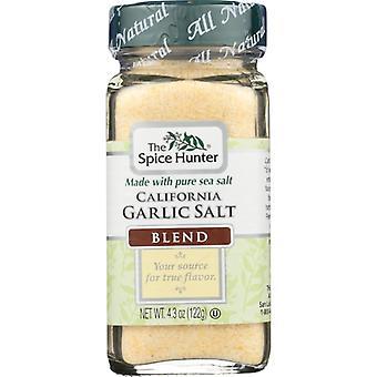 Spice Hunter Cesnaková soľ, puzdro 6 X 4,3 Oz