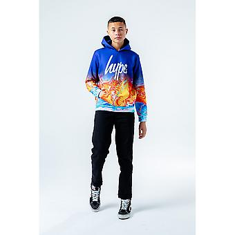 Hype Boys Marble Fade Pullover Hoodie