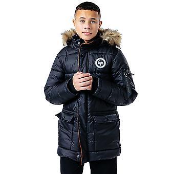 Hype Childrens/Kids Explorer Faux Fur Hooded Jacket