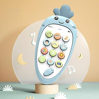 Baby Phone Toy Mobile Phone Telephone Infant Early Educational Machine