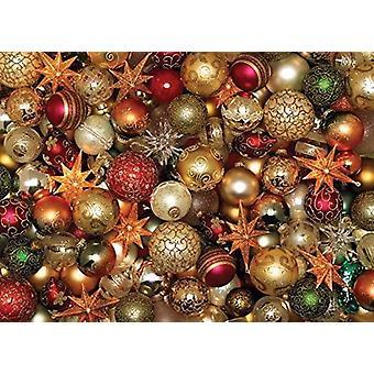 Cobble Hill Christmas Balls Jigsaw Puzzle (500 Pieces)