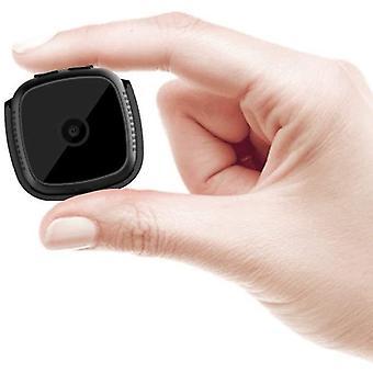 מצלמת ריגול מיני מוסתר מצלמה אלחוטית HD מצלמה ניידת מקליט וידאו IP מצלמה / זיהוי תנועה(שחור)