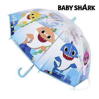 Umbrella Baby Shark Transparent (45 cm)
