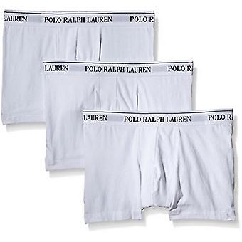 Polo Ralph Lauren Classic Boxer Trunks 3-Pack ( All White )