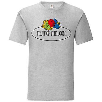 Fruit of the Loom Mens Vintage Large Logo T-Shirt