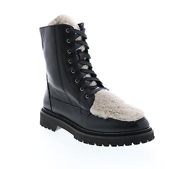 Aquatalia Adult Womens Marlee Calf Shearling Casual Dress Boots