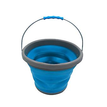 Swotgdoby Portable Folding Bucket, 10 Liters Retractable Plastic Bucket, For Home, Car, Outdoor And Travel