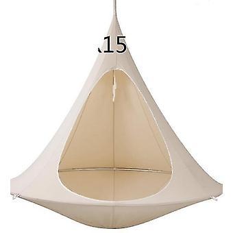 Ufo Shape Tree Hanging Silkworm Swing Chair