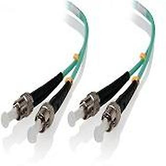 Alogic 15M St St 10G Multi Mode Duplex Lszh Fibre Cable Om3