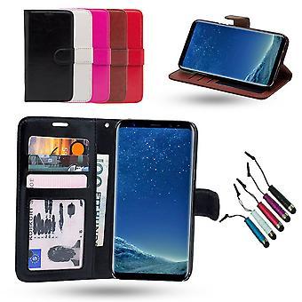 Samsung Galaxy S8 Plus-Leder-Etui/Abdeckung