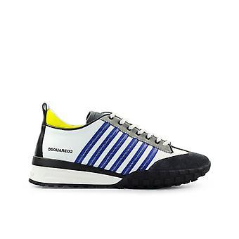 Dsquared2 Legend White Blue Yellow Sneaker