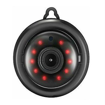 1080P Wireless WiFi CCTV Innen / Außen HD Min IR Sicherheit Heimkamera (Balck)