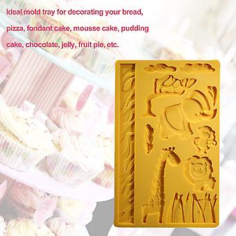 Safe Non-toxic Home Kitchen Baking Tool Diy Silicone Sugar Fondant Cake Mold
