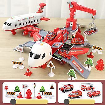 Déformation multifonctionnelle Jouet d'avion pour enfants Rouge