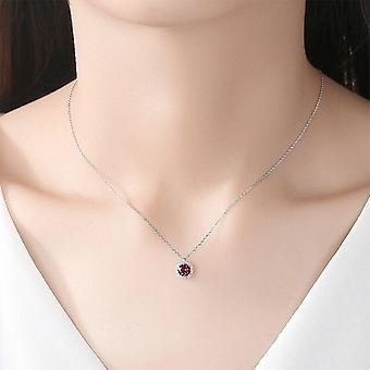 Real Round Pendant Necklaces For Women Wedding Engagement  Party|Necklaces