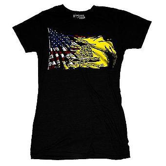 Ranger Up Women's Gadsden Transformation T-Shirt - Black