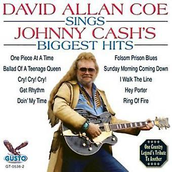 David Allan Coe - sjunger Johnny Cashs största Hits [CD] USA import