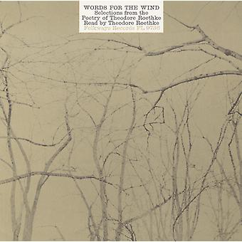 Theodore Roethke - Words for the Wind: Poems of Theodore Roethke [CD] USA import