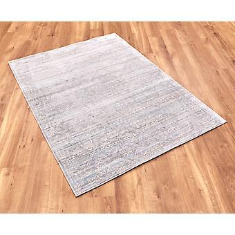 Aqua Silk b471a-Grey  Rectangle Rugs Modern Rugs