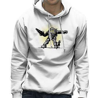 Pair Bond Big Daddy Little Sister BioShock Men's Hooded Sweatshirt
