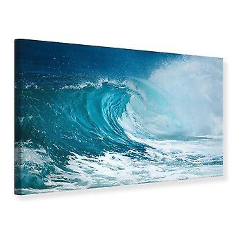 Impresión de lona la ola perfecta