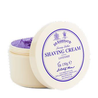 D R Harris Lavender Luxury Lather Shaving Cream Bowl 150g