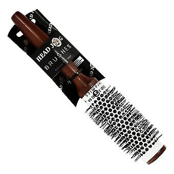 Hairtools Head Jog 56 Ceramic Wooden Radial Brush 33mm